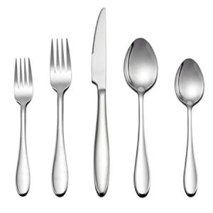 LIANYU Stainless Steel Home Kitchen Hotel Restaurant Tableware Cutlery Set